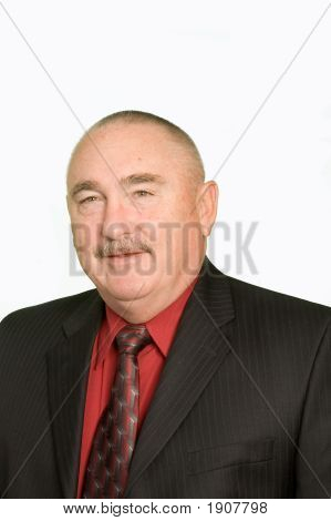 Older Smiling Businessman