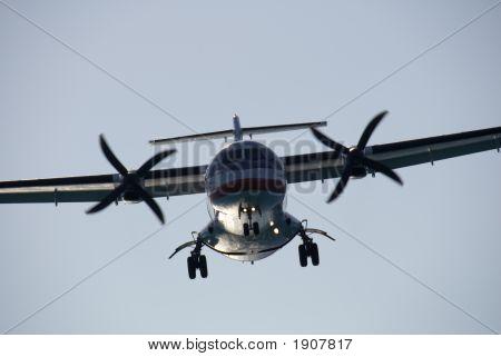 Turboprop Landing