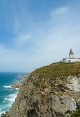 Lighthouse At Cabo De Roca, The Westernmost Point Of Mainland Europe poster