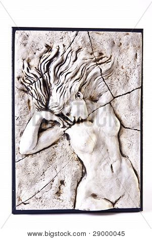 Nude Female Carving