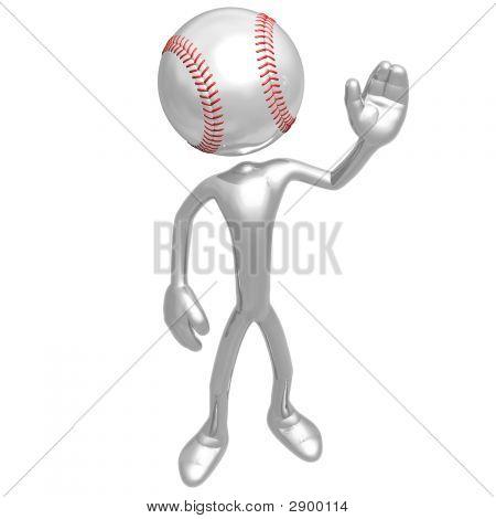 Baseball Waving Hello