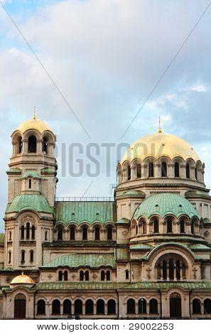La catedral Alexander Nevsky, Sofia, Bulgaria