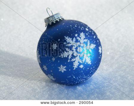 Ball On The Snow