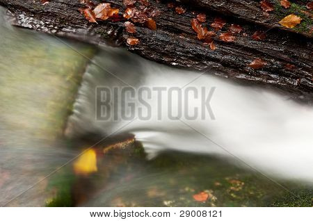 Beautiful Autumnm Waterfall