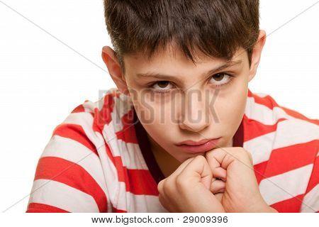 Frightened Kid