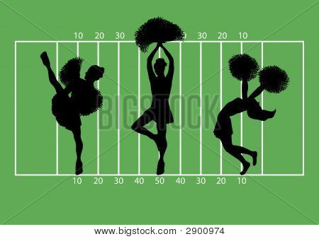 Cheerleaders Football 3