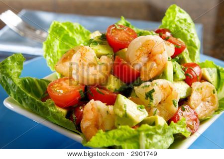 Avocado Shrimps-Salat