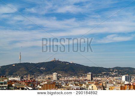 Urban Landscape Of Barcelona Catalonia