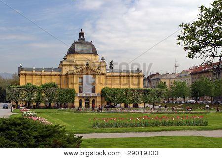 The Art Pavilion in Zagreb