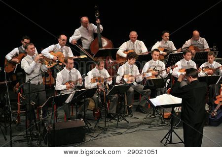 Concert of Croatian radio and television tamburitza orchestra in Kerempuh 30.10.2006