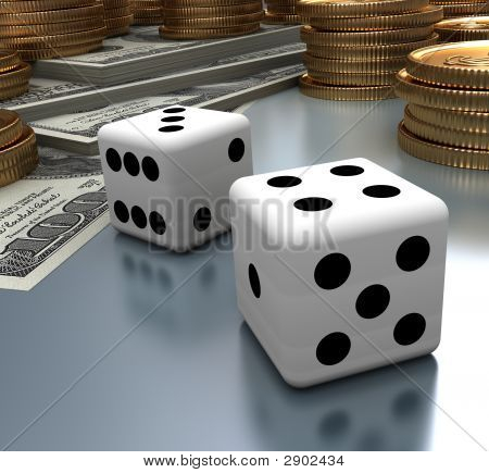 Dices, Dollars And Coins