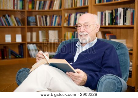 Educated Senior Man