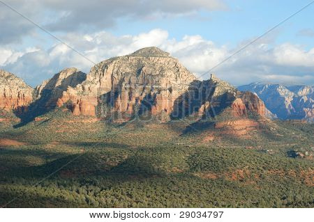 Capitol Butte Rock in Sedona AZ