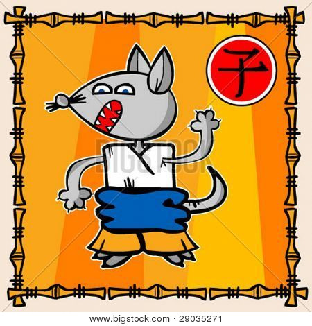 oriental calendar's rat