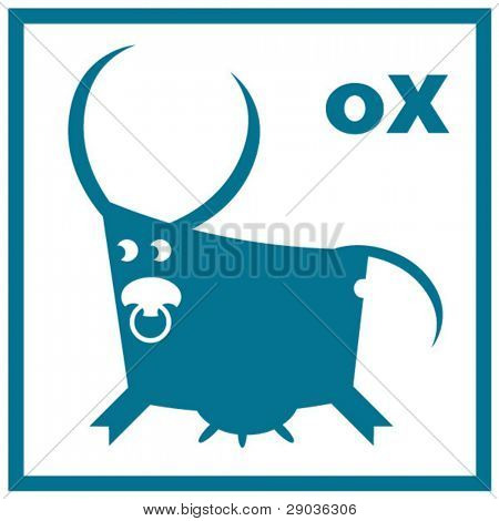 ox, sign of the oriental calendar