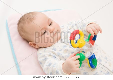 Playing With Rattle
