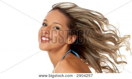 Estilo de cabelo de mulher