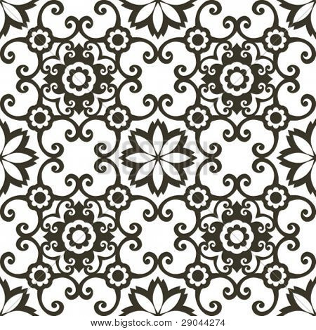 decorative arabesque pattern
