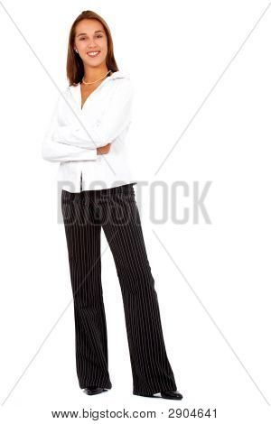 Business Woman Standing