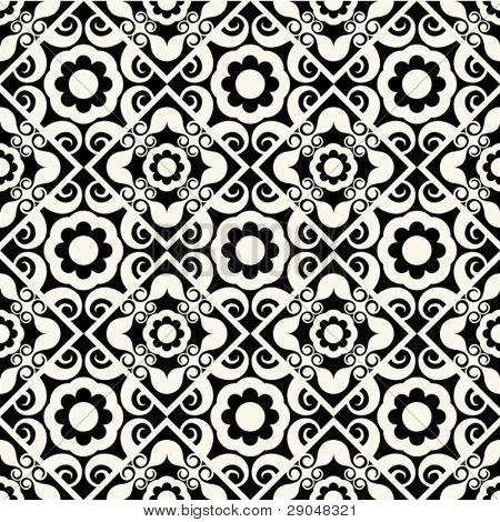 baroque floral pattern