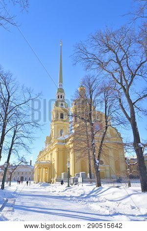 Peter And Paul Cathedral At