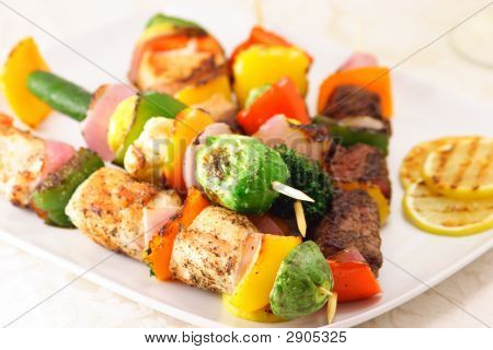 Grilled To Perfection Skewers