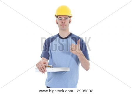 Casual Construction Worker