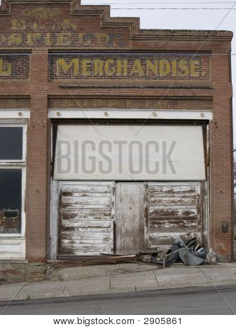 Old General Store Front