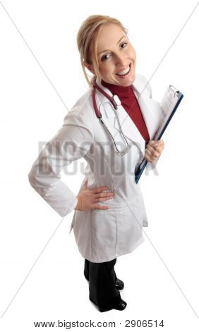 Happy Successful Medical Doctor