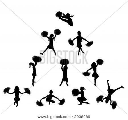 Cheerleader Pyramid 2