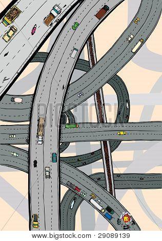 Twisted Highways