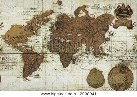 Vintage Old Map
