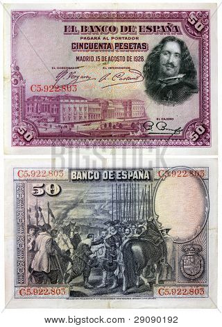 Old Spanish Money