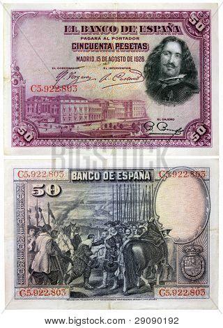 Old Spanish Money