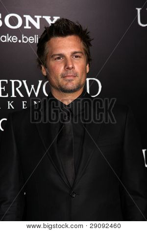 "LOS ANGELES - JAN 19:  Len Wiseman arrives at  the ""Underworld Awakening"" Los Angeles Premiere at Graumans Chinese Theater on January 19, 2012 in Los Angeles, CA"