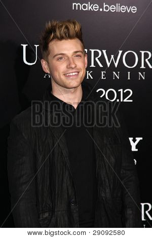 """LOS ANGELES - JAN 19:  Jeremiah Brent arrives at  the """"Underworld Awakening"""" Los Angeles Premiere at Graumans Chinese Theater on January 19, 2012 in Los Angeles, CA"""