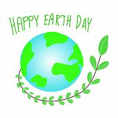 Earth Day. Eco Friendly Concept. Vector Illustration. Earth Day Concept. World Environment Day Backg poster
