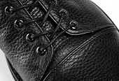 Mens Fashion Leather Shoes For Autumn, Spring, European Winter. Boots For A Modern Grunge Woman. Wo poster
