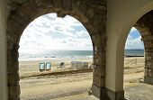 Colonnade On The Beach Front At Bournemouth On The Dorset Coast poster