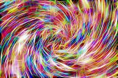 Color Diverse Background. Bright Colors Of Intertwined Multi-colored Lines. Brightness, Color, Color poster