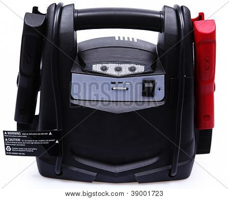 Portable Battery Pack and Jumper Cables for Automobile Car