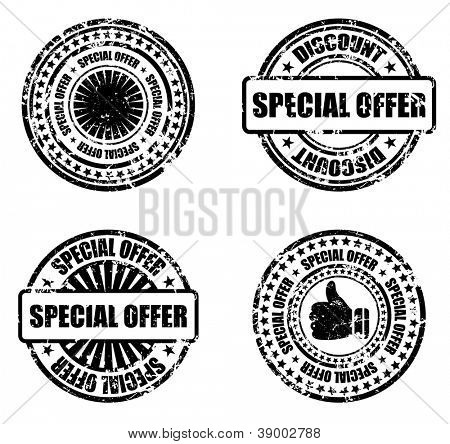 stamp set - special offer
