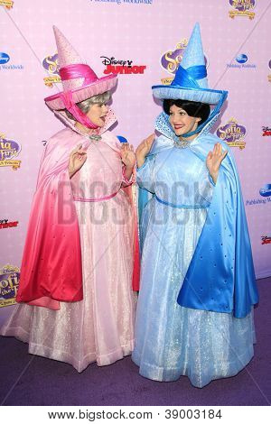 BURBANK - NOV 10: Fairy Character at the premiere of Disney Channels' 'Sofia The First: Once Upon a Princess' at Walt Disney Studios on November 10, 2012 in Burbank, California