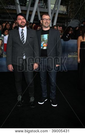 LOS ANGELES - NOV 12:  The Boom Circuts arrive to the 'The Twilight Saga: Breaking Dawn - Part 2