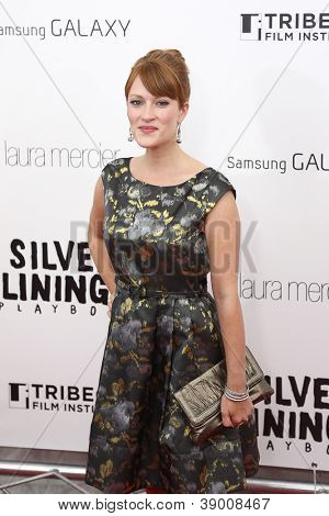 NEW YORK-NOV 12: Actress Brea Bee attends the premiere of