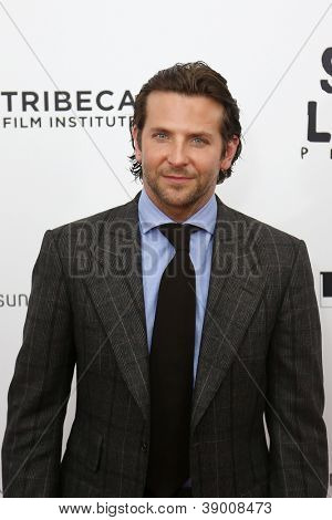 """NEW YORK-NOV 12: Actor Bradley Cooper attends the premiere of """"Silver Linings Playbook"""" at the Ziegfeld Theatre on November 12, 2012 in New York City."""
