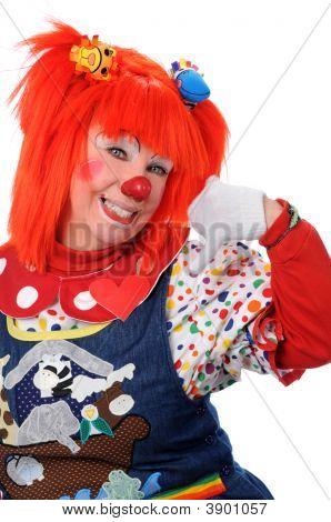 Clown Signaling Call Me
