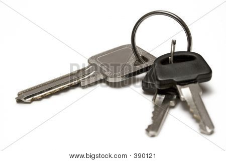 Three Keys W/ Ring