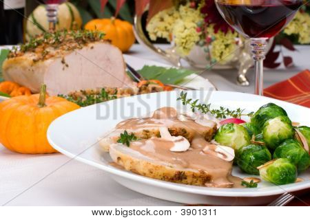 Garlic Thyme Roast Pork