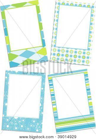 Template photo frames